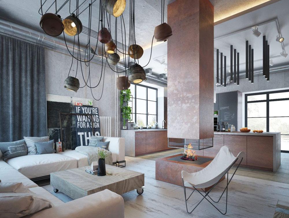 Modern Industrial Interior Design Definition Home Decor