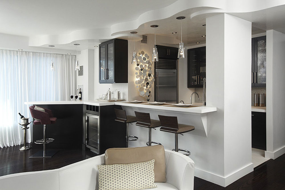 How to organize and decorate a small apartment kitchen ...