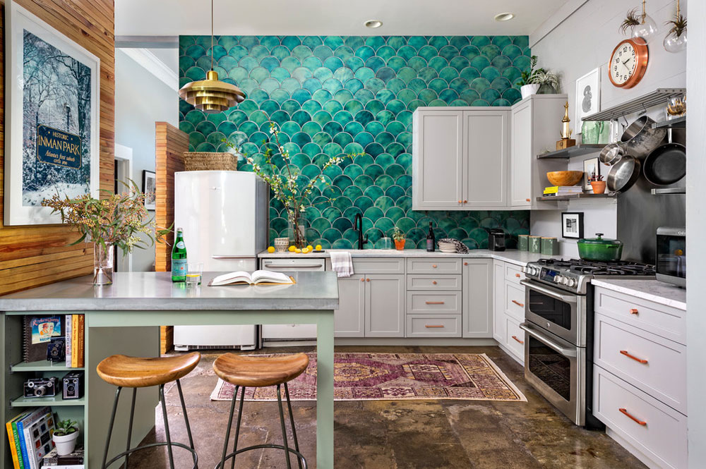 Eclectic-Kitchen-by-Gina-Sims-Designs- Kitchen remodeling: What you need to know before a kitchen makeover