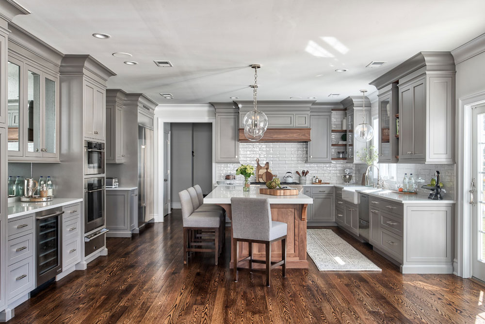 Grey-Classic-Kitchen-by-Standard-Tile Kitchen remodeling: What you need to know before a kitchen makeover
