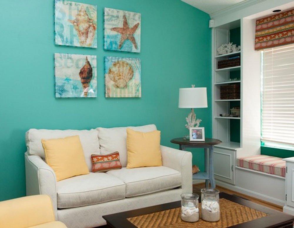 The Aqua Color How To Decorate Your House Interior With It