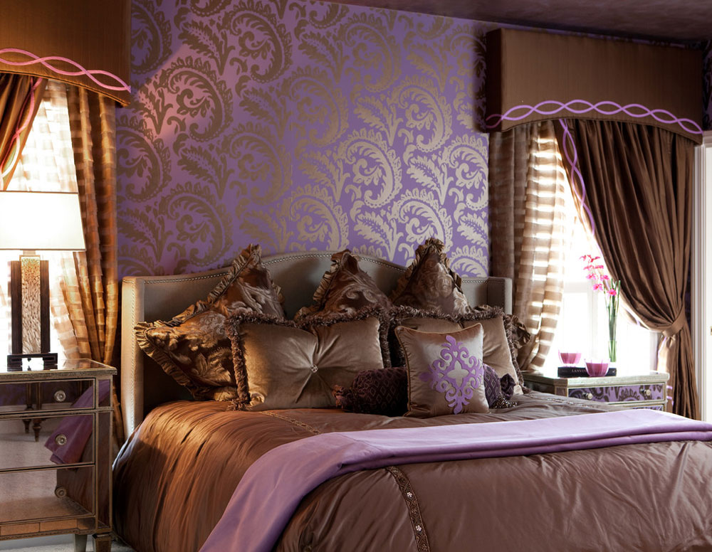 The lavender color and colors that go with lavender