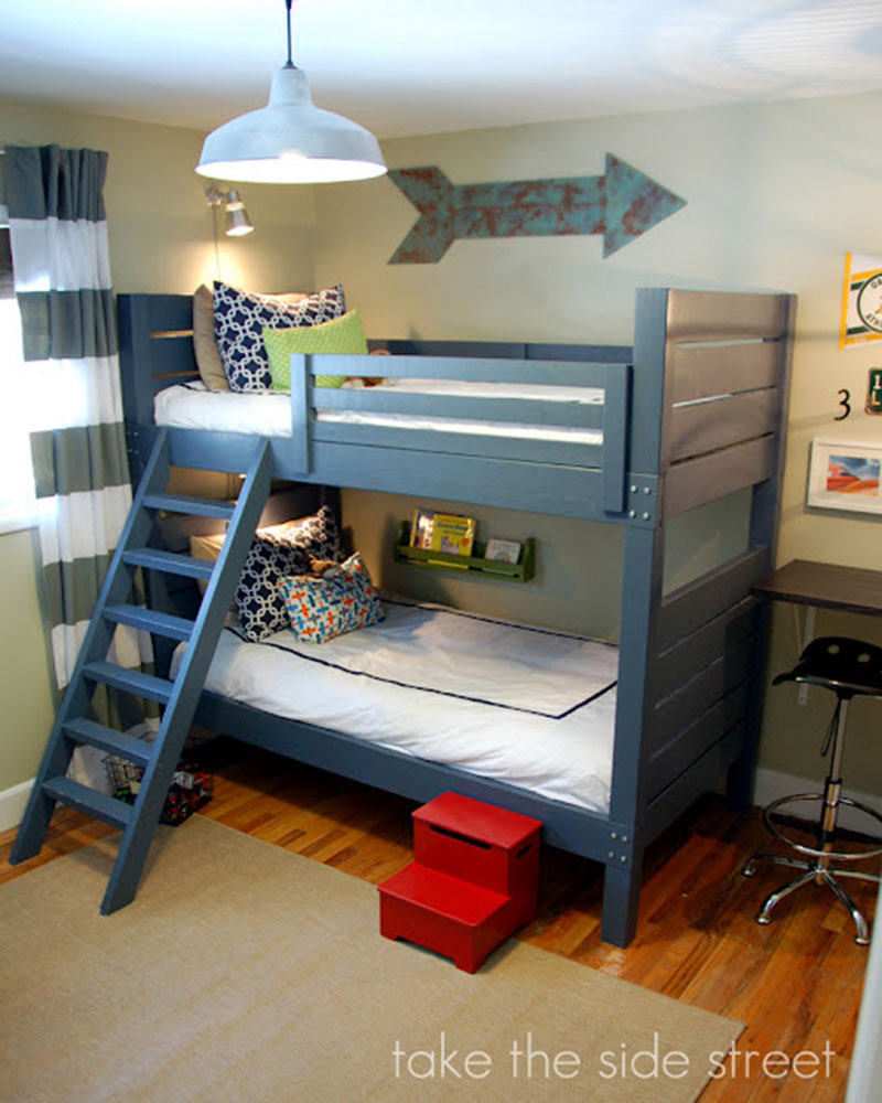 Free Diy Bunk Bed Plans To Build Your Own Bunk Bed