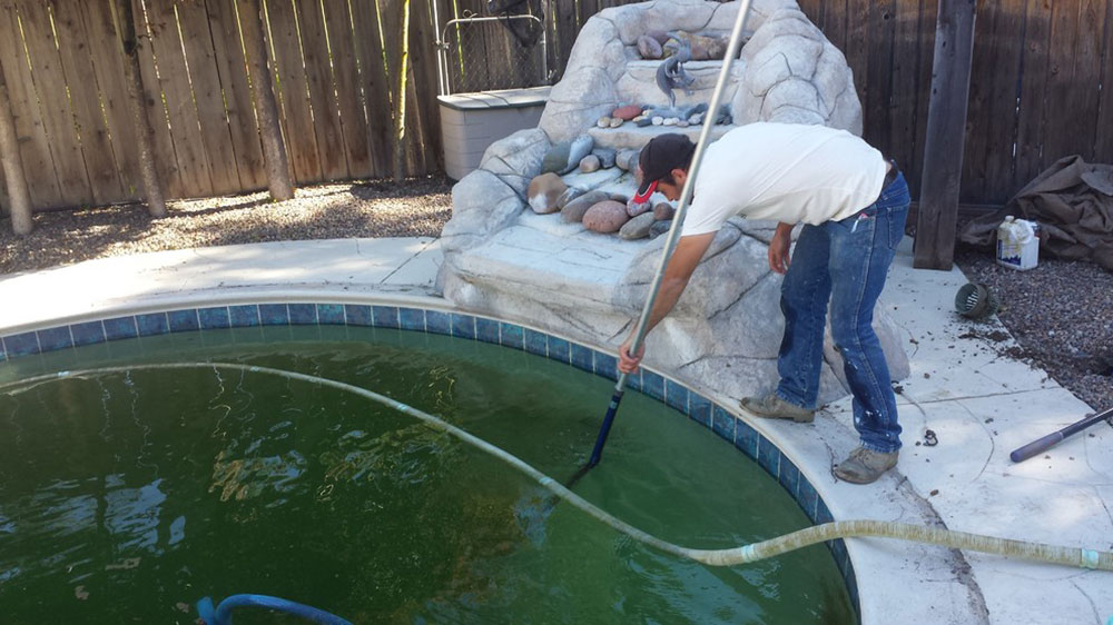 How to clean a green pool: the only guide you need