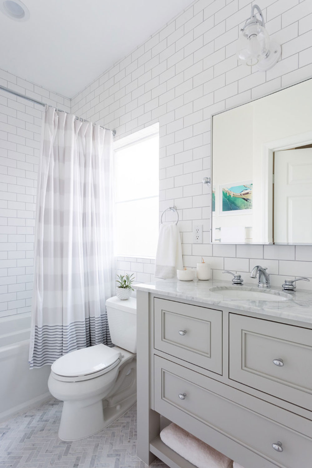 Small bathroom remodel:  tips to do it properly