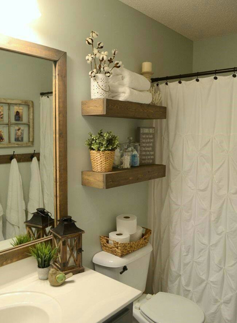 small bathroom shelf ideas to optimize your bathroom space