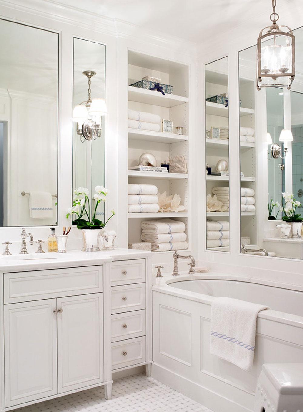 Small Bathroom Shelf Ideas To Optimize Your Bathroom Space