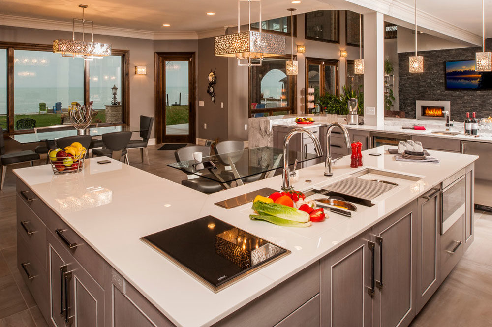 L Shaped Kitchen Island Ideas To Try In Your Kitchen