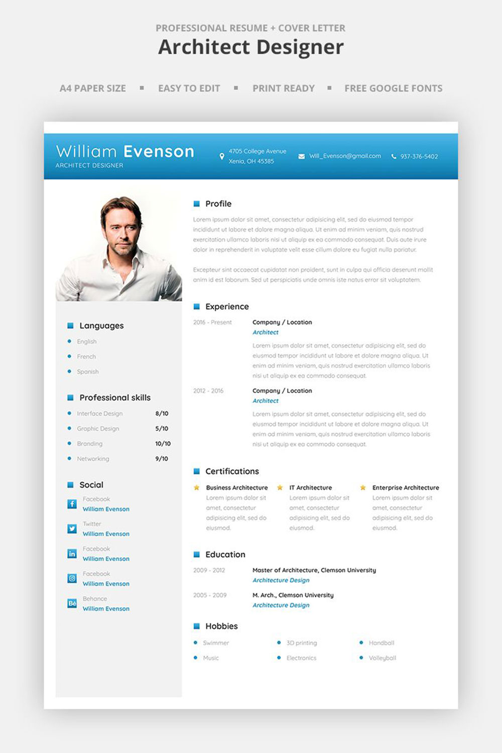 The architecture resume that gets you hired (Templates included)