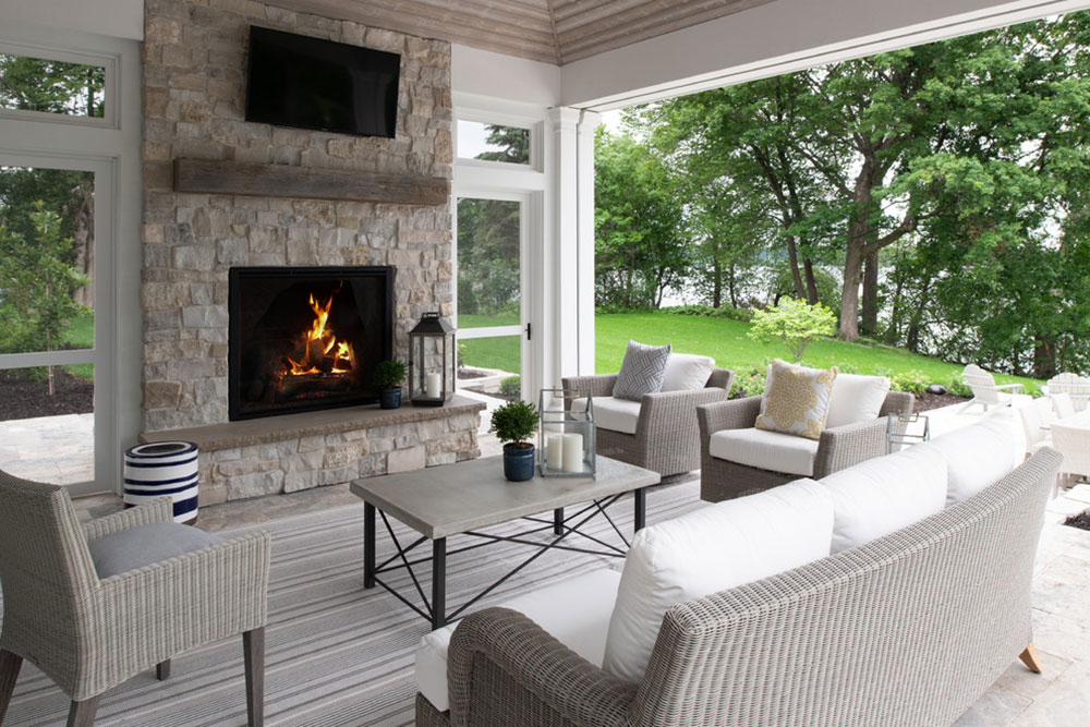 Stone Fireplace Ideas How To Decorate A Stone Fireplace