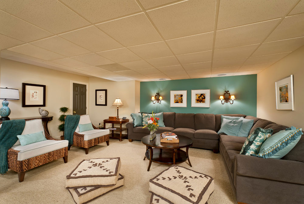 The Colors That Go With Teal Check Out, Brown And Teal Dining Room