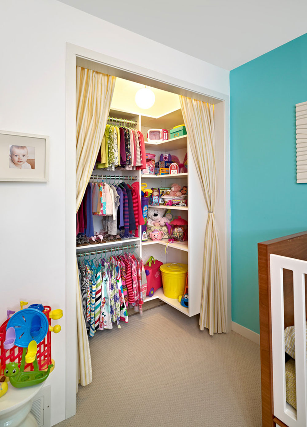How To Cover A Closet Without Doors Inexpensive Options