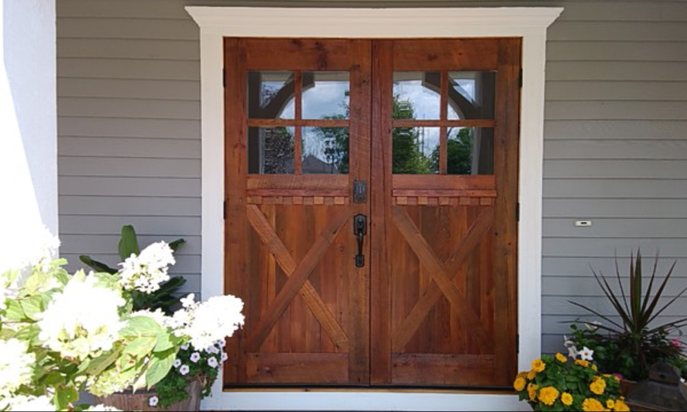 Farmhouse Front Door Ideas That Are Simple And Inspiring