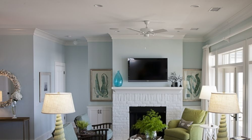 White Brick Fireplace Ideas To Use In Your Living Room Decor
