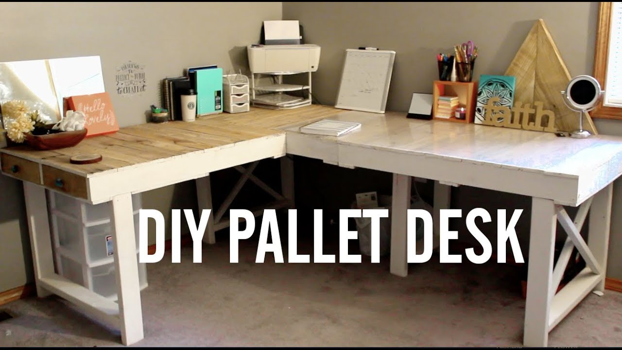 DIY computer desk ideas that you could start creating now