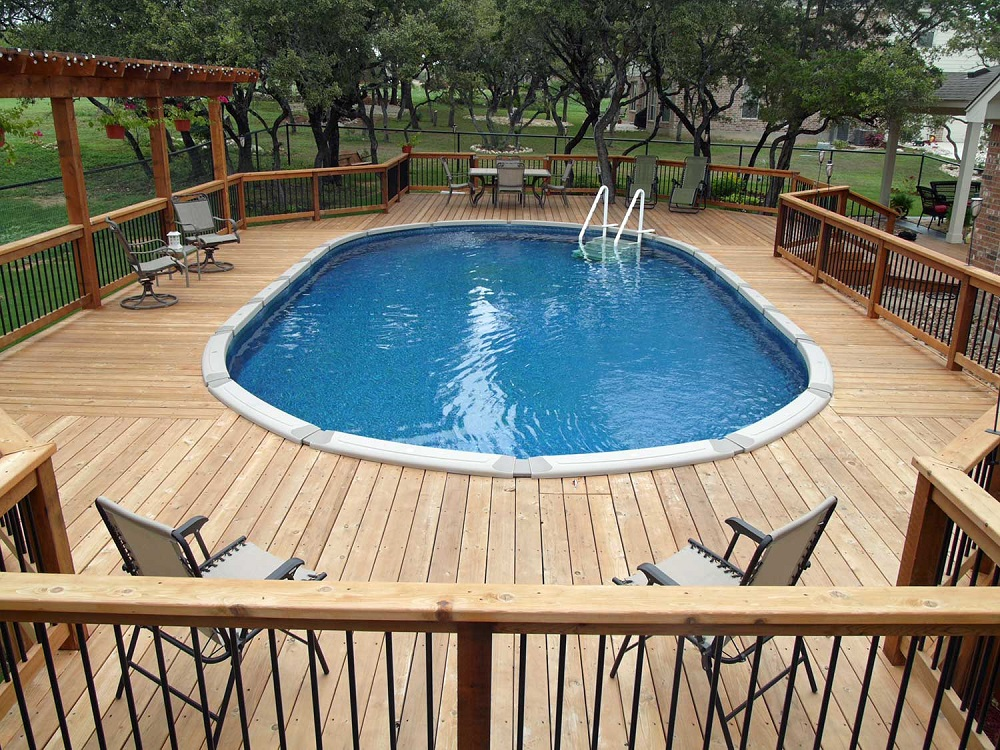 Cool Above Ground Pool Decks To Use As, How To Build A Raised Deck Around An Above Ground Pool