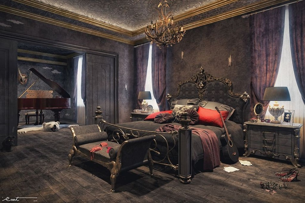 Gothic Bedroom Ideas Impressive Designs That Will Surprise You