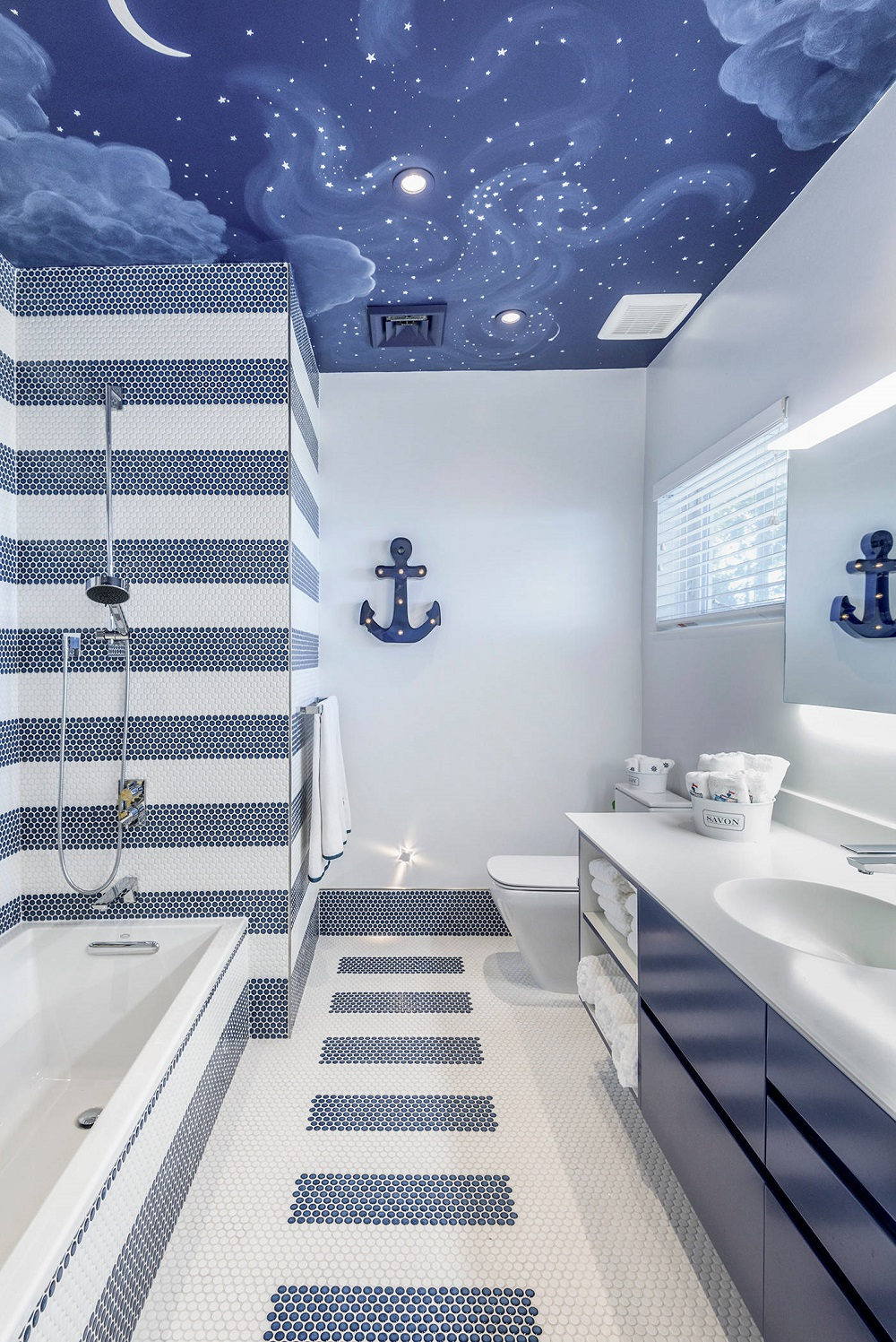 The Awesome Nautical Bathroom Décor And