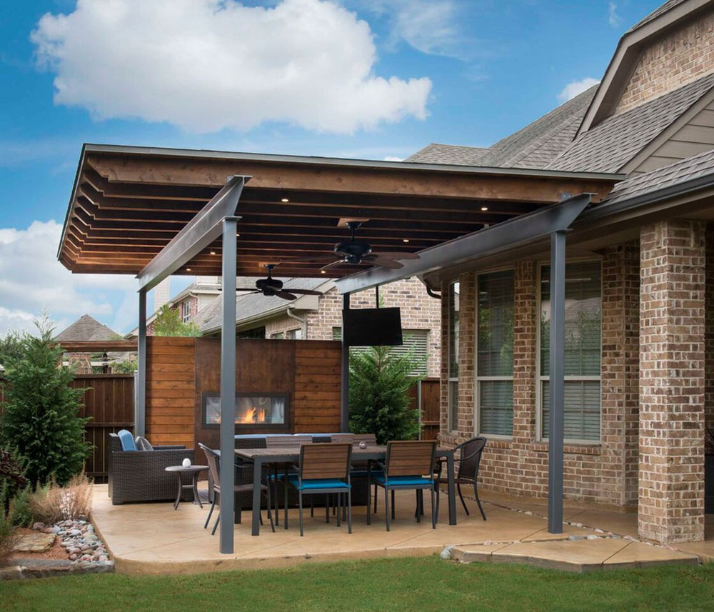 How To Attach A Patio Roof An Existing House