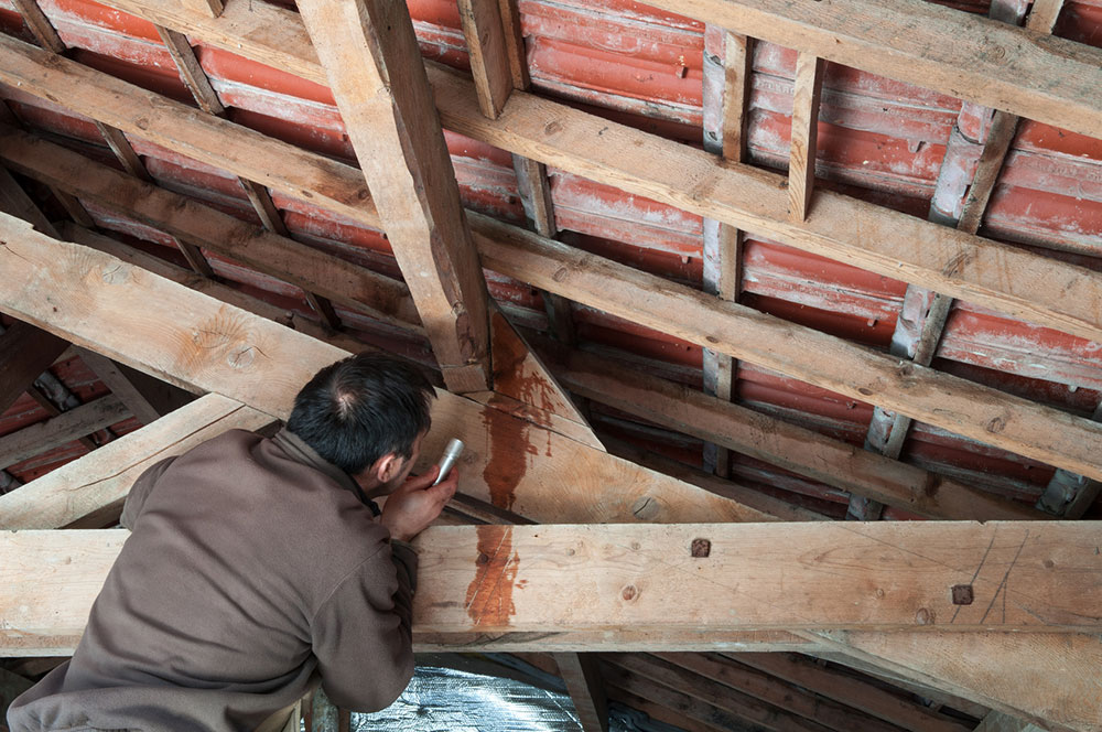 How To Fix A Leaking Roof From The Inside Quick Tips