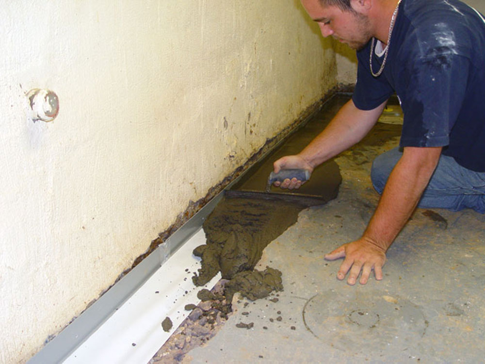 How To Stop Water From Coming Up, Moisture Coming Up Through Basement Floor