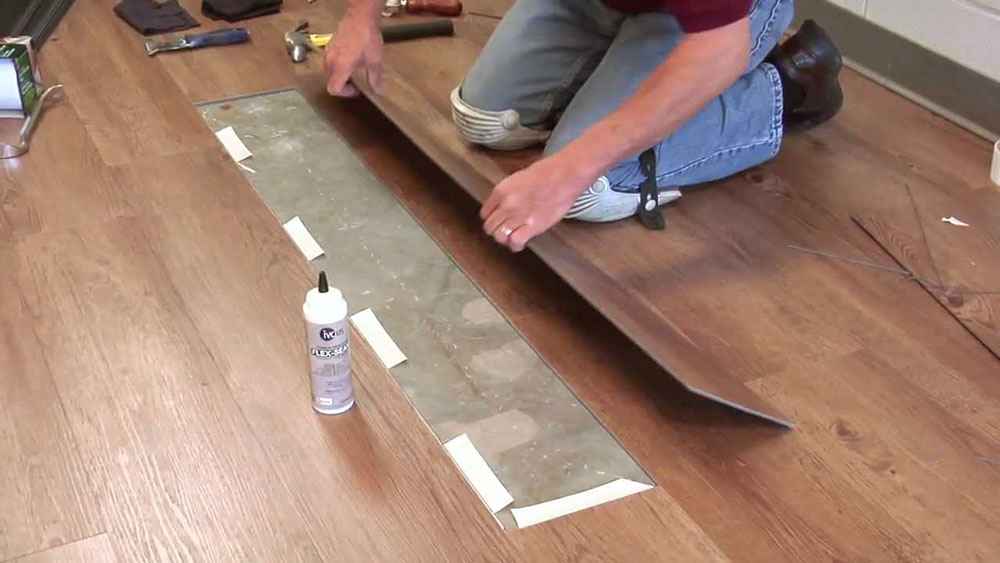 How To Fix A Laminate Floor That Got, How To Fix Separated Laminate Flooring