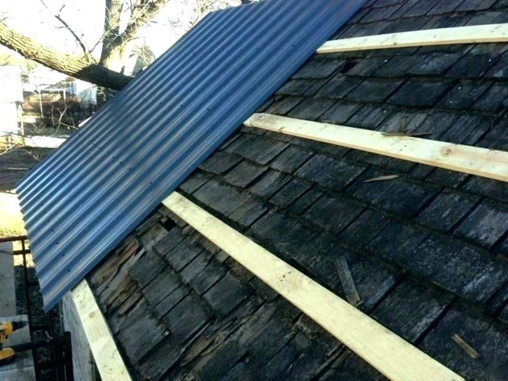 How To Install Metal Roofing Over Shingles Yes You Can