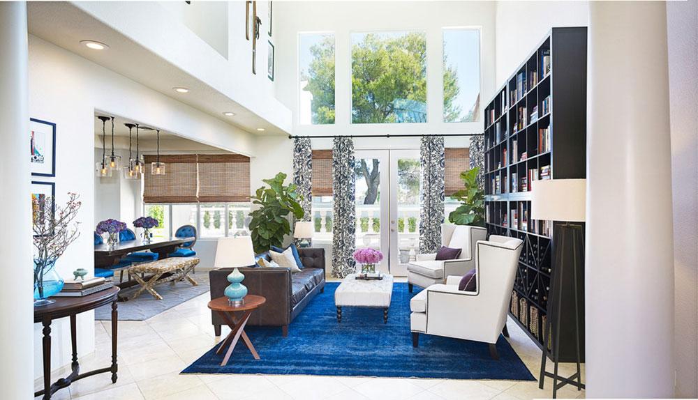 ANDERSON-RESIDENCE-by-DANIELLA-VILLAMIL-INTERIORS Cách đặt một tấm thảm trong phòng khách để nơi này trông thật bắt mắt