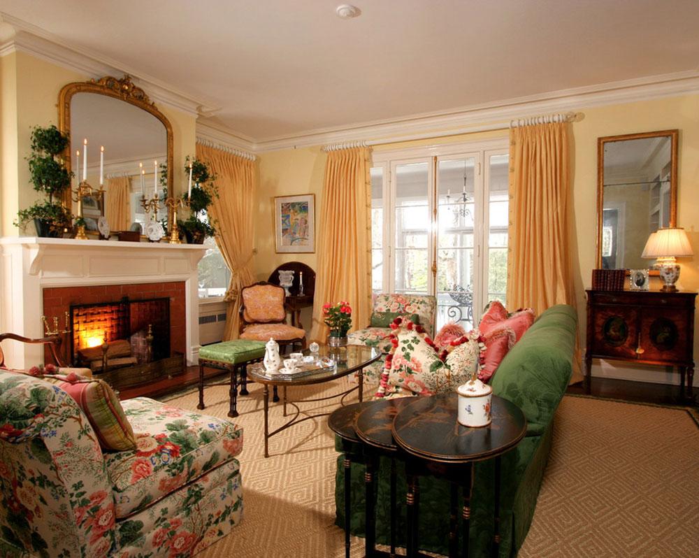 Nội thất-Phòng khách-Thiết kế-Cổ điển-của J.-Stephens-Nội thất Cách đặt một tấm thảm trong phòng khách để nơi này trông thật tuyệt