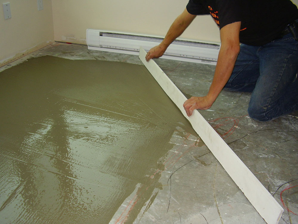 How To Level A Concrete Floor That