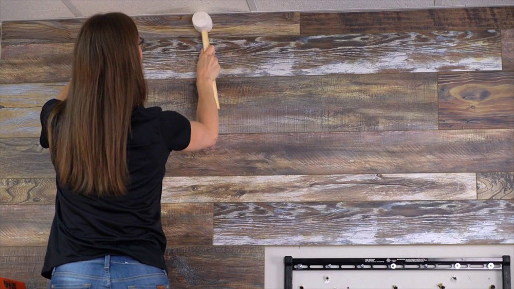 How To Install Laminate Flooring On Walls, How To Put Laminate Flooring On Walls